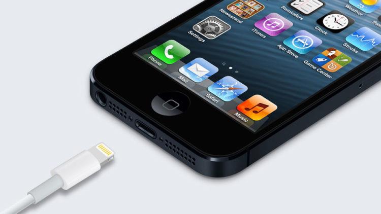 iPhone 5 si primul conector Lightning