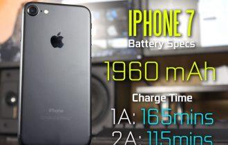 Cat timp dureaza incarcarea bateriei pentru iPhone 7?