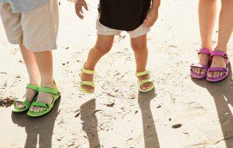 De ce sunt ideale sandalele pentru copii?