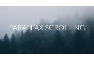Ce este parallax scrolling?