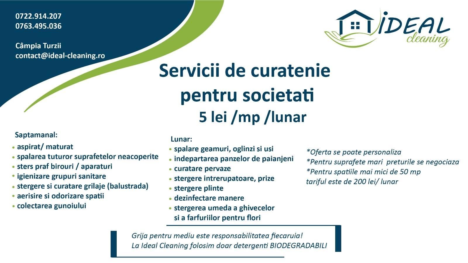 servicii curatenie Cluj