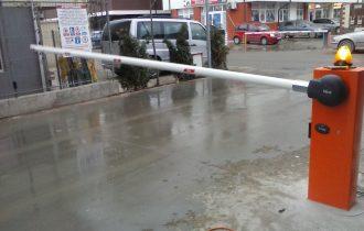 Blochează în mod fiabil locul de parcare cu bariera pentru parcare