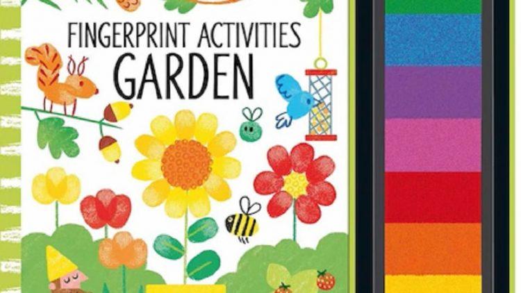 Care sunt avantajele cartii Fingerprint Activities Garden pentru copii?